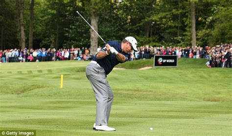 lee westwood swing lee westwood admits wentworth victory would be ironic