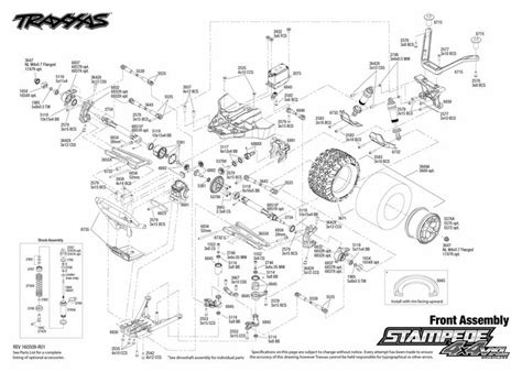 traxxas rustler parts diagram traxxas parts diagram traxxas parts list slash 4x4