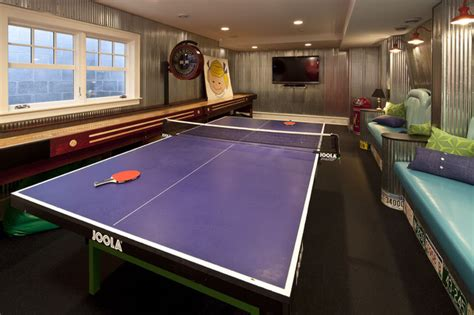modern home design games game room traditional family room minneapolis by