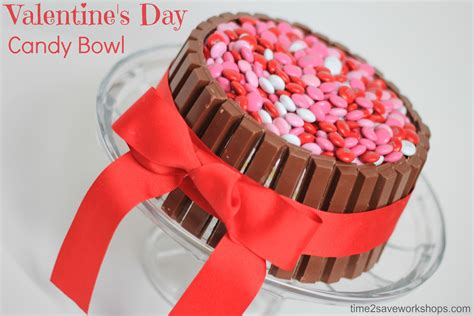 valentines day ideas cute valentine s day ideas diy candy bowl kasey trenum