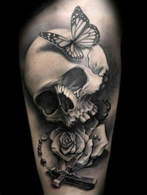 totenkopf tattoo ideen und symbolik tattoos zenideen