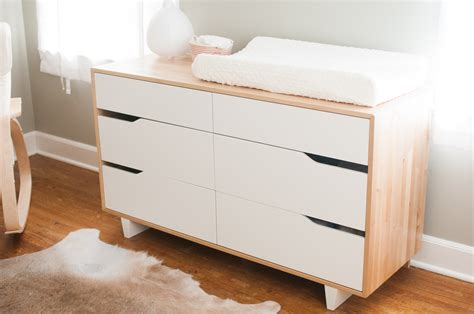 white changing table with drawers bedroom modern changing table topper baby design with