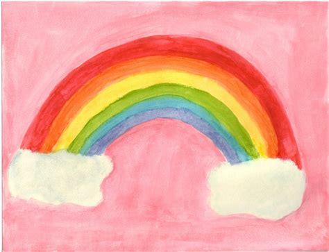 painting rainbow painted rainbow by blackpandajj on deviantart