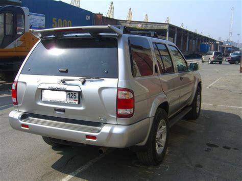 2002 nissan pathfinder pics 3 5 gasoline automatic for sale