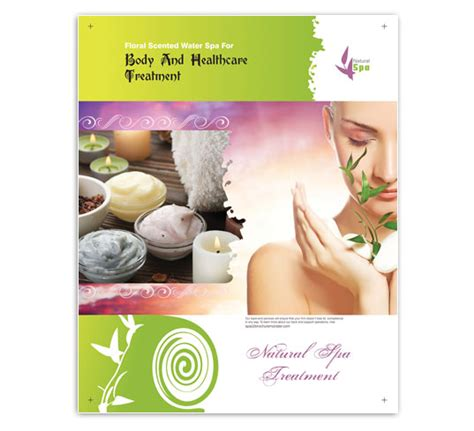 Spa Flyer Templates To Download Spa Flyer Templates Free