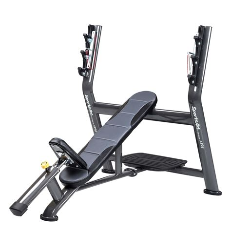 ch olympic weight bench a998 olympic incline bench sportsart