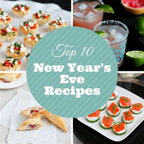 new year recipes top 10 lightened up new year s cocktail appetizer