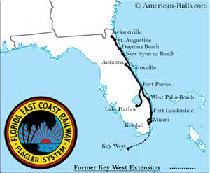 florida east coast railway map florida treasure coast area is located on the east coast