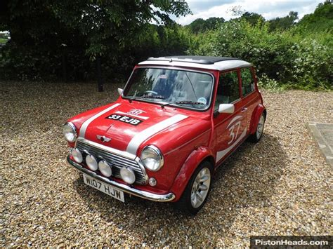 Clasic Mini Black K classic rover mini cooper s works signed by paddy hopki