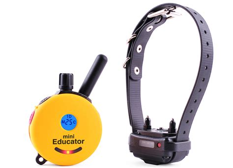 how to your with an e collar remote trainers mini educator e collar 1 2 mile remote trainer et 300