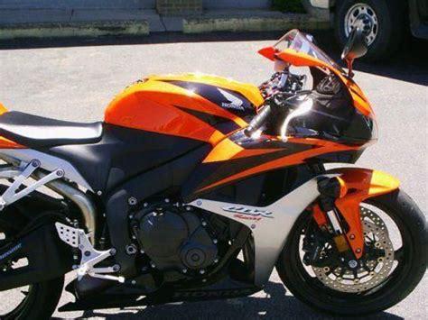 honda cbr 600 orange and black 2008 honda cbr600rr orange and black for sale on 2040 motos