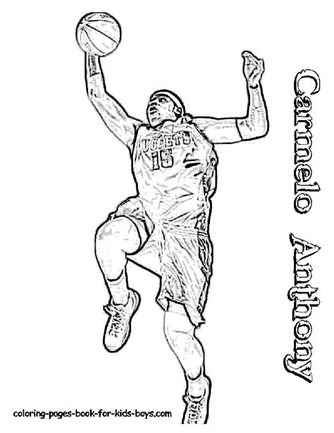 free printable coloring pages of nba players nba printable coloring pages