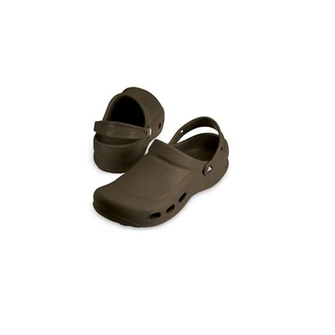 light comfortable work shoes crocs specialist clog vent chocolate light and