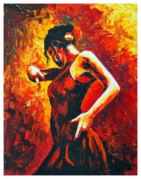 28 paintings for sale buy original archive original flamenco 11 painting by manuel garcia