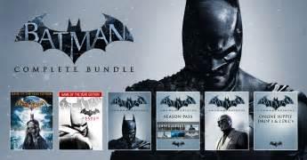Get all batman arkham games and dlc for 10 vg247