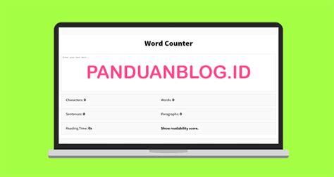 cara membuat website dengan html notepad cara membuat aplikasi word counter berbasis html panduan