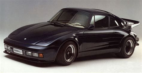 porsche gemballa 80s ridiculously awesome 80s tuner specialty cars spannerhead