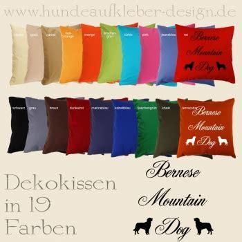 Dekokissen Shop by Berner Sennenhund Dekokissen Hundeaufkleber Shop