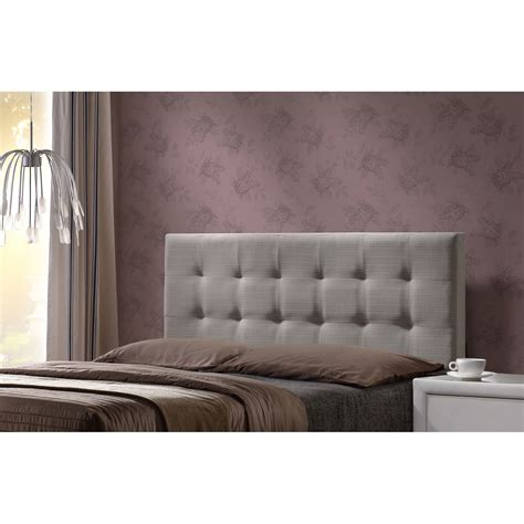 Upholstered Bed Frame Without Headboard Duggan Upholstered Headboard Without Frame Light