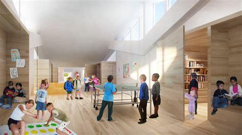 copenhagen school of interior design big architects vilhelmsro primary school