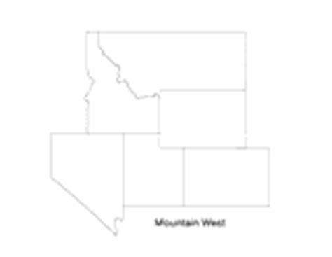 printable map rocky mountain states mountain west printable pre k 12th grade