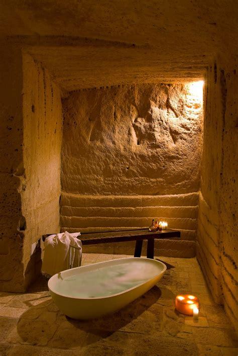 Cave Bathroom Ideas by 4 Hotel Sextantio Le Grotte Della Civita Built In