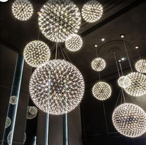 kronleuchter modern edelstahl modern creative firework led pendant ls stainless steel