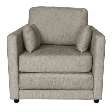 bed armchair single futon sofa bed chair snooze fabric 1 seater guest
