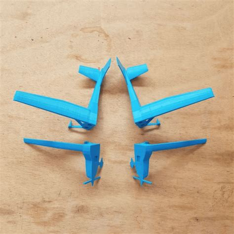 Kaos 3d Print 05 free 3d printer file airplane model for flight school la poste