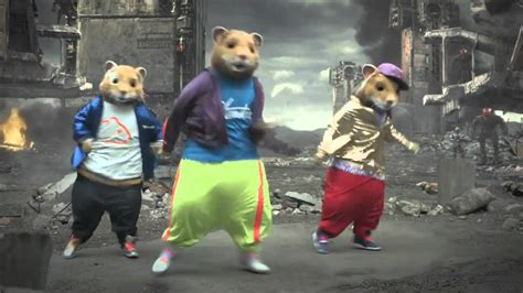 party rock anthem mouse commercial party rock anthem hamsterdance remix lmfao kia soul hamster commercial youtube