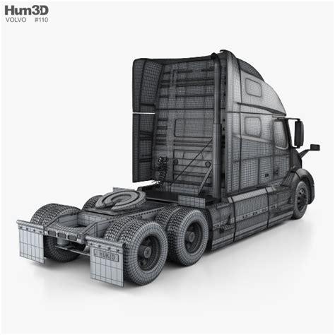 volvo vnl 760 tractor truck 2018 3d model hum3d