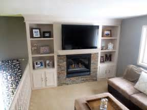 Mickey Mouse Bathroom Ideas remodelaholic fireplace makeover with built in shelves