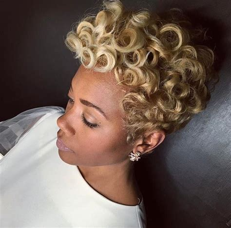 how to do pin curls on black women s hair lovely blonde pin curls by khimandi black hair information
