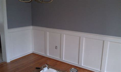 Easy Wainscoting by Easy Wainscoting Future House Ideas