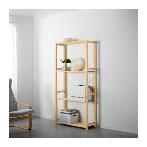 Ivar shelving unit 89x30x179 cm ikea