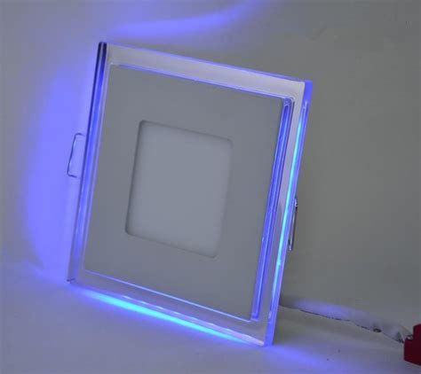 Square Led Lights by Square Led Panel Light 15w Utra Thin White Blue Color Panel Led Ceiling L In Led Panel