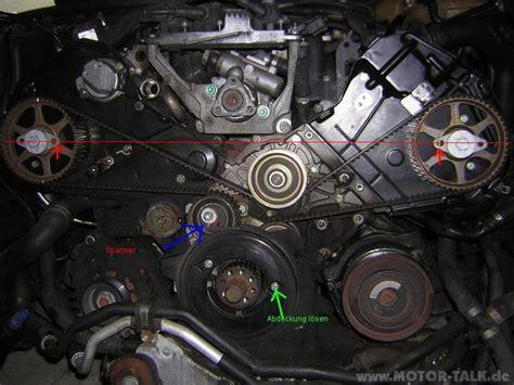 Audi A6 4b Lambdasonde Wechseln by A6 4b Zahnriemen Stellung Nockenwellen 2 4