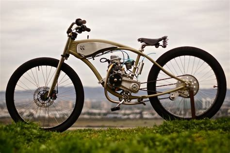 motors for bicycles motorised bicycle by wolf creative customs silodrome