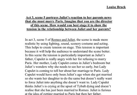 Romeo And Juliet Character Analysis Essay Prompt by Romeo And Juliet Essay Prompts Romeo And Juliet Literary