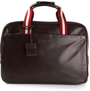 Dompet Bally Brown Stripe Original bally contrast stripe holdall where to buy how to wear