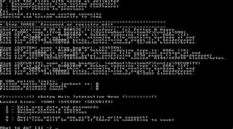 windows reset password registry editor boot cd 2014 july password recovery