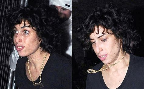 perming husbands hair photos of amy winehouse with latest hair style perm in