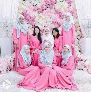 Royal Syari Mint 24 pilihan warna baju bridesmaid yang confirm korang suka