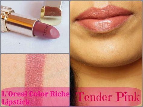 Tender 1 Lipgloss Matte Birght Tender Lip Hs l oreal color riche lipstick tender pink 114 review