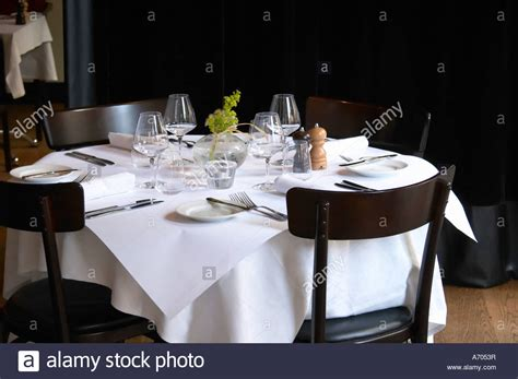 table dinner table dinner table set in the dining room restaurant pm and