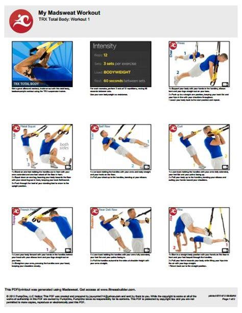 printable trx workouts eoua