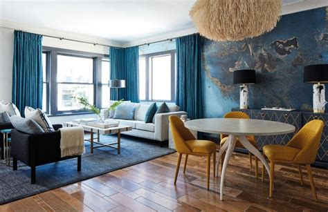 Black And Blue Living Room Ideas by 12 Blue Living Room Colour Scheme Ideas