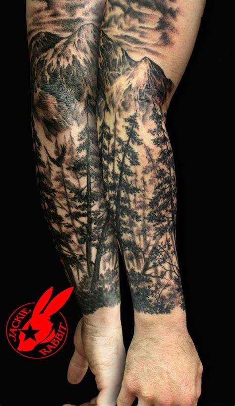 nature quarter sleeve tattoo 15 hermosos tatuajes que te conectar 225 n con la naturaleza
