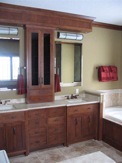 credit river craftsman home craftsman bathroom