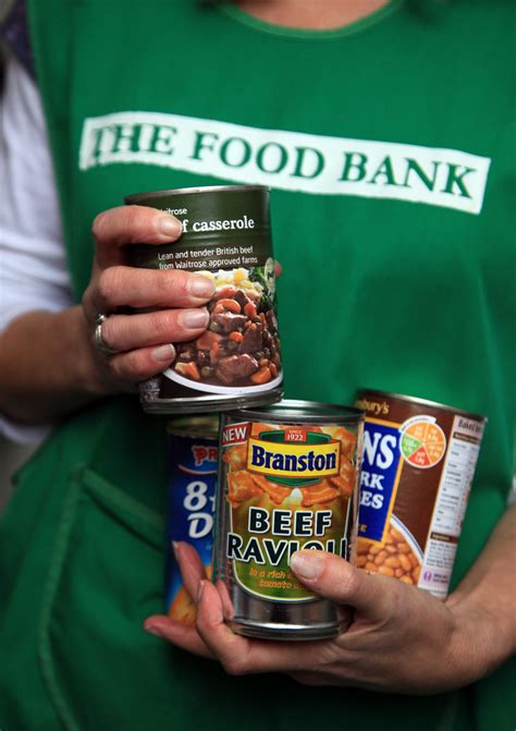 food bank families in food poverty worry about feeding children in